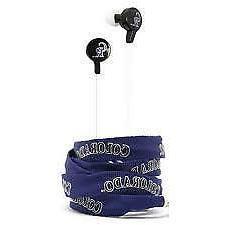 Colorado Rockies Shoelace Earbuds