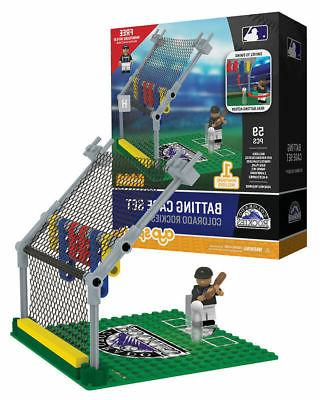 colorado rockies sports toys batting cage set