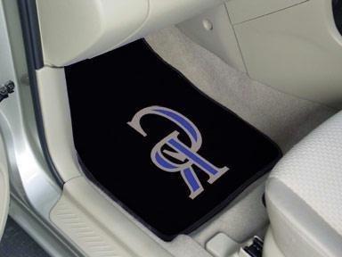mlb carpeted car mat