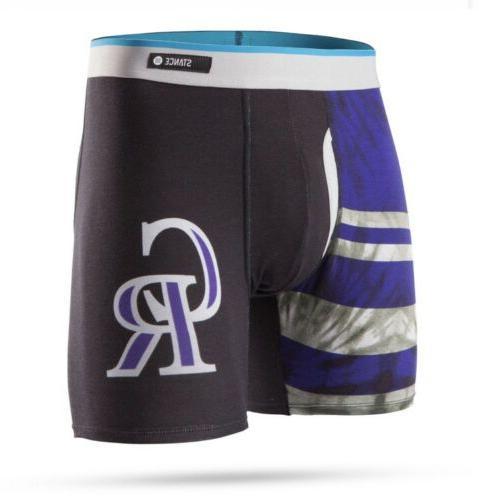 mlb colorado rockies basilone boxers underwear briefs