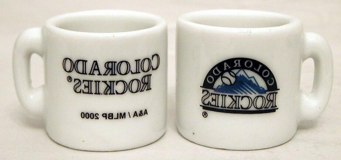 mlb colorado rockies mini mug holiday ornament