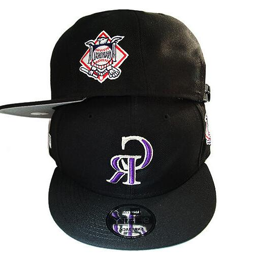 New Rockies Hat League Side Patch