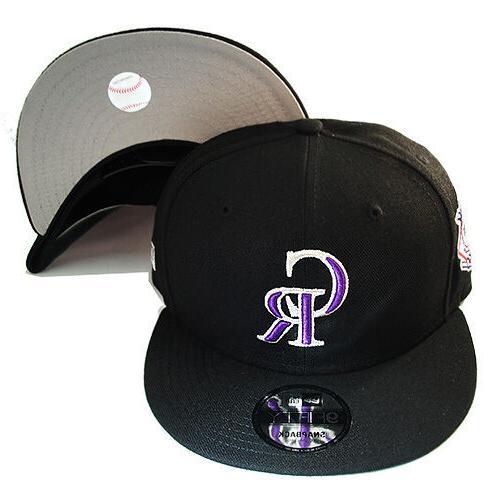 New Era Rockies Hat League Patch Cap