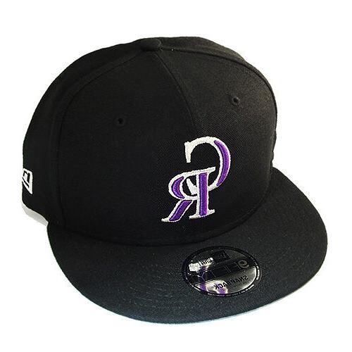 New MLB Rockies Snapback League Patch