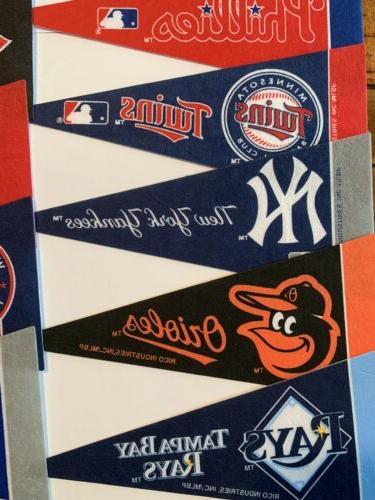 NEW MLB Mini Team 30 Flag