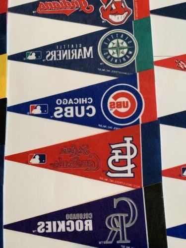 """NEW MLB Mini Pick Team 4""""x9"""" 30"""