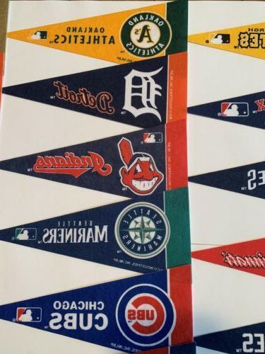 NEW Baseball Mini Pick Team Flag Banner