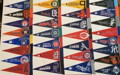 new mlb baseball teams mini pennants pick