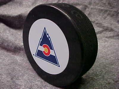 nhl vintage colorado rockies logo in glasco
