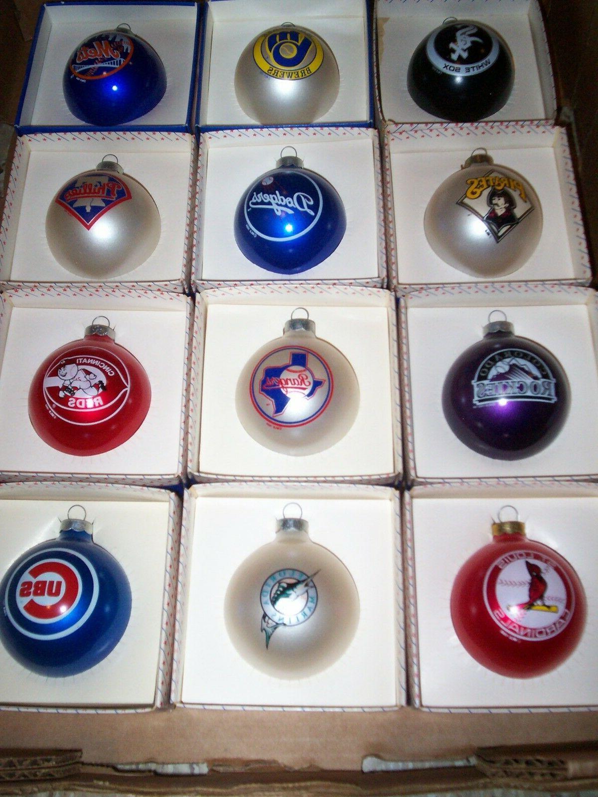 vintage colorado rockies ornament