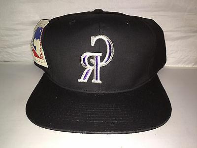 vtg colorado rockies snapback hat cap 90s