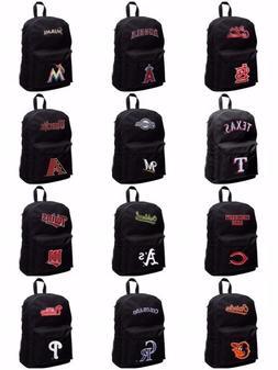 Licensed Full Size Student Sprint Black Backpack - Various T