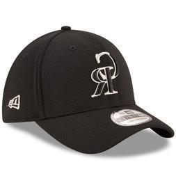 Men's Colorado Rockies MLB New Era Black Tone Tech Redux 39T