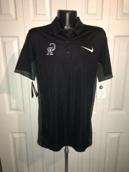 Men's Nike Dri-Fit MLB Colorado Rockies Black Short-Sleeve