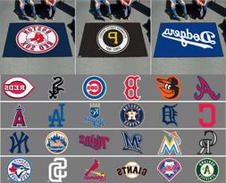 MLB 5 Ft x 8 FT Ultimat Area Rugs All Teams Tailgate Gameroo