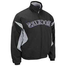 MLB Majestic Authentic Colorado Rockies Therma Base Jacket N