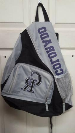 MLB COLORADO ROCKIES * 1 STRAP BACK PACK * NEW WITH TAGS