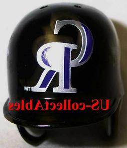 MLB Colorado Rockies Baseball Batting Helmet Keychain Souven
