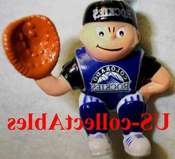 MLB Colorado Rockies Baseball Catcher Sports Brat Original C