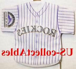 MLB Colorado Rockies Baseball Jersey I.D. Holder NEW Sports