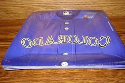 """MLB * COLORADO ROCKIES Baseball Party 10 1/2"""" in Plates  #18"""