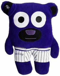 MLB Colorado Rockies Bear In Underwear Purple Plush Stuffed