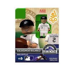 MLB Colorado Rockies Carlos Gonzalez Generation 3 Toy Figure