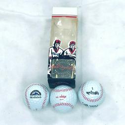 MLB Colorado Rockies Golf Ball Sleeve Raven Stitches Nationa