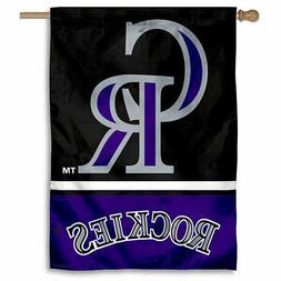 MLB Colorado Rockies House Flag and Banner