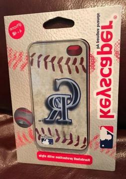 MLB Colorado Rockies Iphone 4/4s Hard Cover Case Vintage Edi