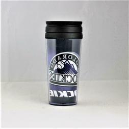 MLB Colorado Rockies Licensed 16oz Acrylic Tumbler Coffee Mu