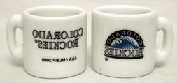 "MLB Colorado Rockies  Mini Mug ""HOLIDAY ORNAMENT IDEA"""