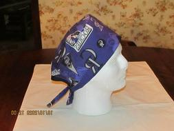 Handmade MLB Colorado Rockies Surgical Scrub Hats