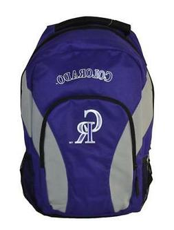 MLB Colorado Rockies Draft Day Team Backpack 18 inch