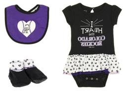 Outerstuff MLB Infant Colorado Rockies Play With Heart Creep