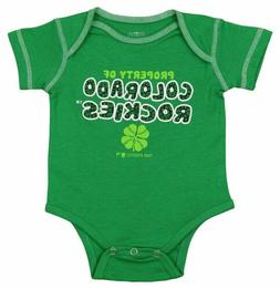 Outerstuff MLB Infants Colorado Rockies St. Patricks Clover