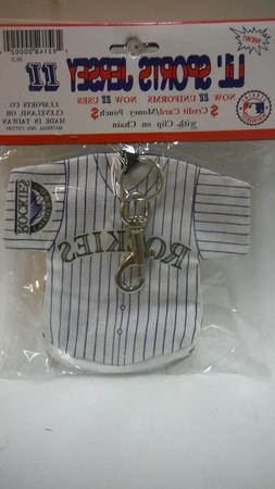 MLB Licensed Lil Sports Brat Baseball Collectible - COLORADO