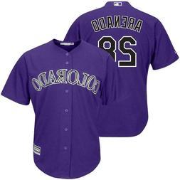 NEW - Baseball Jersey - COLORADO ROCKIES, #28, Nolan Arenado
