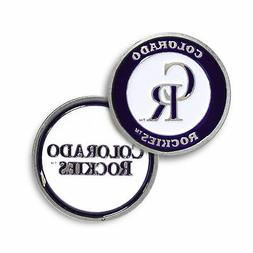 New Colorado Rockies Golf Ball Marker Licensed and Authentic