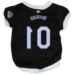 NEW COLORADO ROCKIES PET DOG BASEBALL JERSEY ALL SIZES