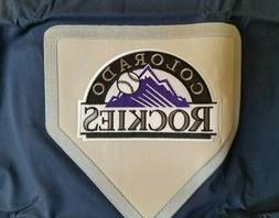 NEW POTTERY BARN MLB BASEBALL COLORADO ROCKIES NAVY BLUE  ST