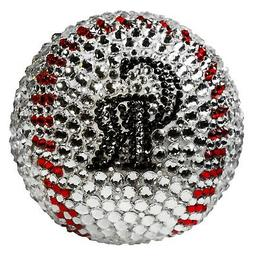 NEW MLB Colorado Rockies Baseball Made with Swarovski® Crys