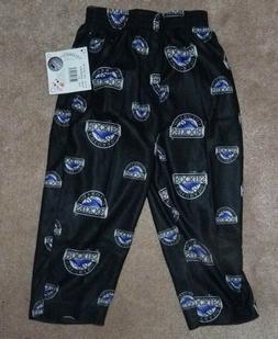 NEW MLB Colorado Rockies Toddler Loungewear Sleepwear Pants