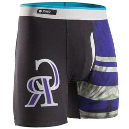 new without tags underwear mlb colorado rockies