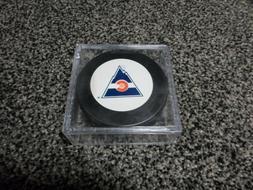 NHL Vintage Colorado Rockies Logo In GlasCo Official Souveni