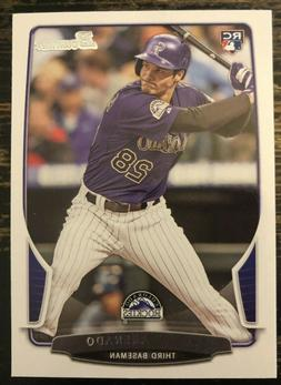 NOLAN ARENADO 2013 Bowman RC Base #41 Colorado Rockies ROOKI