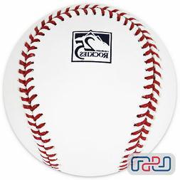 Colorado Rockies 25th Anniversary Official MLB Rawlings Base