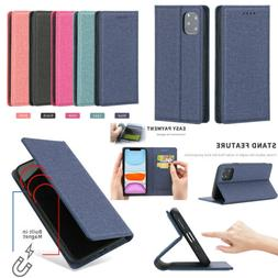 Phone PU Leather Flip Card Wallet Case Cover For iPhone 11 M