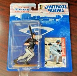 Starting Lineup 1997 Figure and Card Dante Brichette Rockies