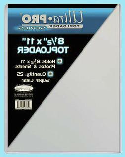 "Ultra Pro 6"" X 9"" Toploader 25ct"